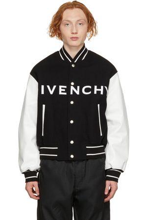 Givenchy Black & White Varsity Jacket