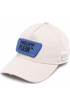 Philipp Plein Baseballkappe im Distressed-Look