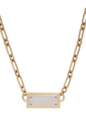 Dolce & Gabbana Herren Halsketten - Ankerkette mit Logo