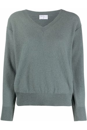 FEDELI Pullover mit V-Ausschnitt
