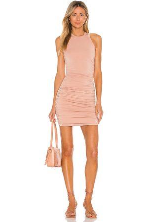 superdown Yvette Ruched Dress in . Size XXS, XS, S, M, XL.