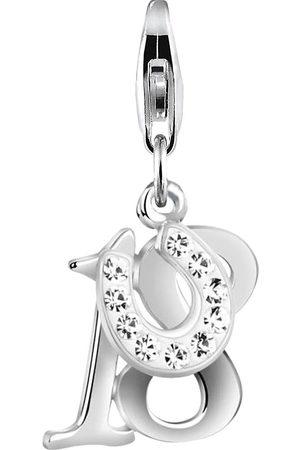 Nenalina Damen Armbänder - Charm 18 Hufeisen Mojo Kristalle 925 in , Schmuck für Damen
