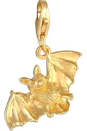Nenalina Charm Anhänger Fledermaus Halloween 925 Sterling Silber in , Schmuck für Damen