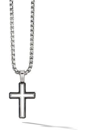 David Yurman Herren Halsketten - Klassischer Kreuzanhänger