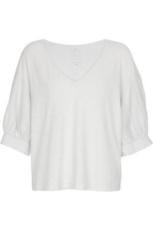 Velvet T-Shirt Claudia aus Baumwolle
