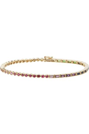 YVONNE LÉON Gold Rainbow Riviere Bracelet
