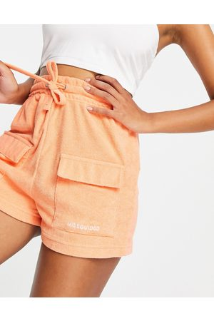 Missguided – Jogging-Shorts aus Frottee in , Kombiteil