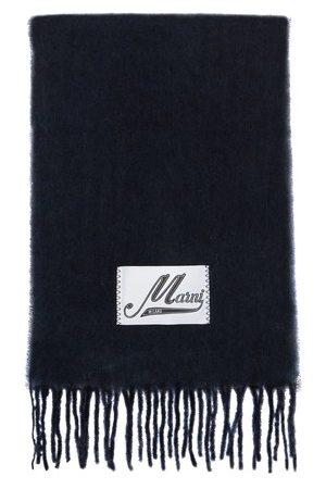 Marni Schal aus gebürstetem Alpaka