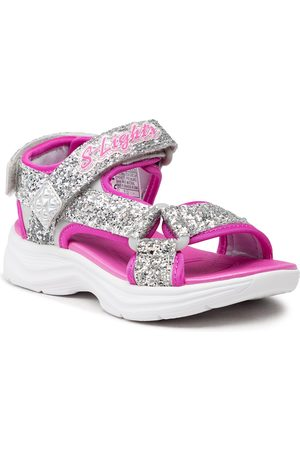 Skechers Glittery Glam 302965L/SLHP Silver/Hot Pink