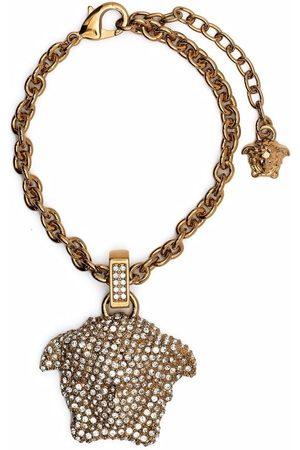 VERSACE Damen Armbänder - Kristallverziertes Armband mit Medusa