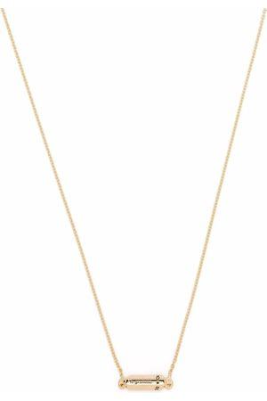 Le Gramme Halsketten - Polierte 18kt Gelbgoldhalskette mit Kapselanhänger