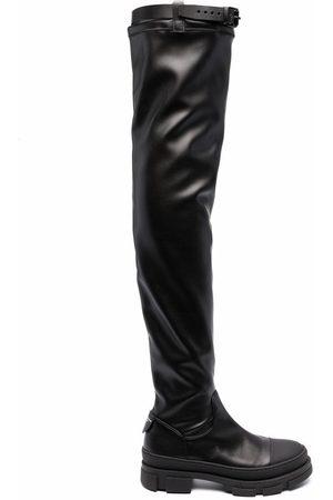 Serafini Overknee-Stiefel