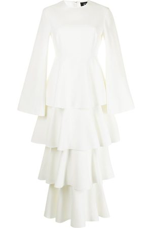 Solace Damen Cocktailkleider - Langärmeliges Kleid