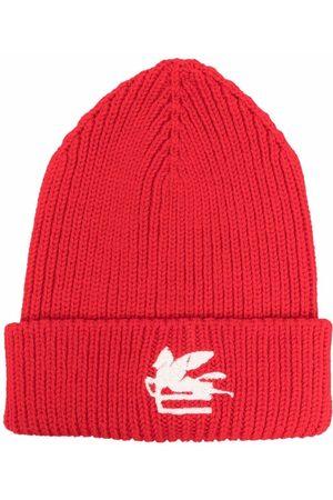 Etro Mütze mit Logo-Patch