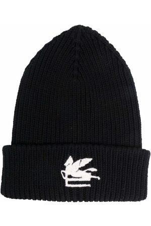 Etro Damen Hüte - Mütze mit Logo-Patch