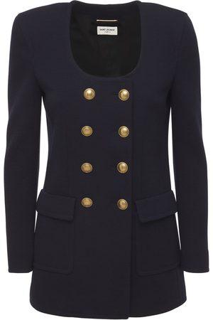 Saint Laurent Compact Wool Jacket