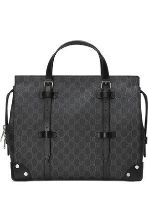 Gucci Herren Koffer - GG Shopper mit Lederdetails