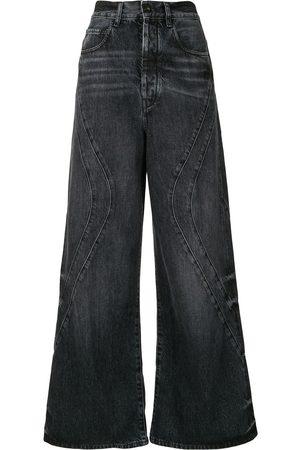 MARCELO BURLON County' Jeans mit weitem Bein