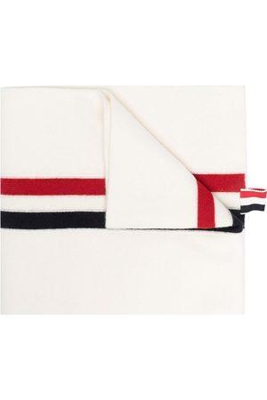 Thom Browne Herren Schals - Schal mit RWB-Streifen
