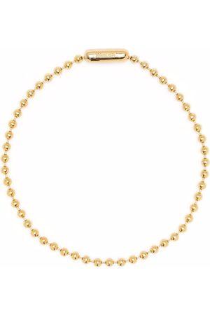 AMBUSH Halsketten - Kugelketten-Choker aus Silber
