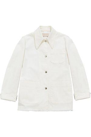 Christopher Kane Damen Jeansjacken - Organic cotton denim jacket