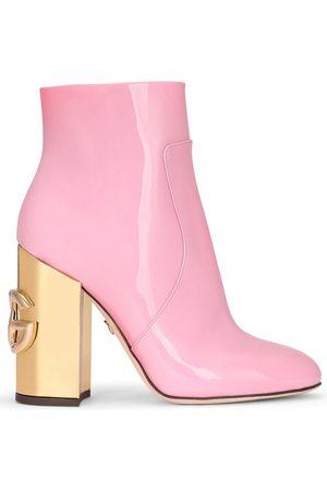 Dolce & Gabbana Stiefeletten aus Lackleder
