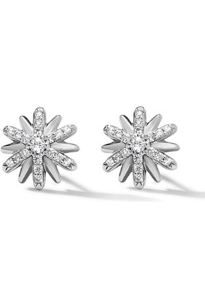 David Yurman Petite Starburst Ohrringe mit Diamanten 10mm
