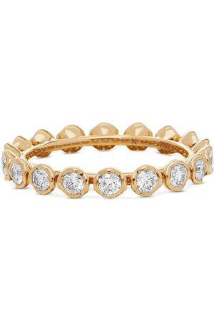 Annoushka 18kt Gelbgoldring mit weißen Diamanten