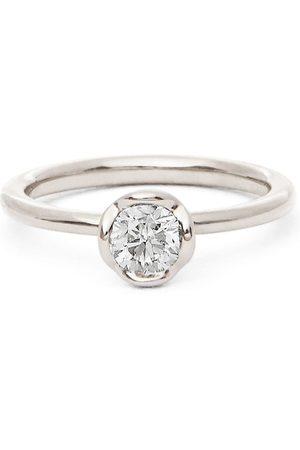 ANNOUSHKA 18kt Weißgoldring mit Diamant