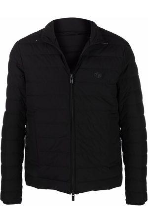 Emporio Armani Herren Winterjacken - Gefütterte Jacke mit Logo-Patch