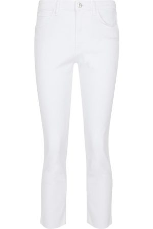 3x1 Straight Fit Cropped Jeans W3
