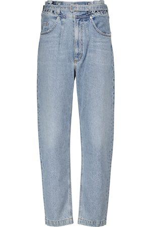 AGOLDE High-Rise Tapered Jeans Riya
