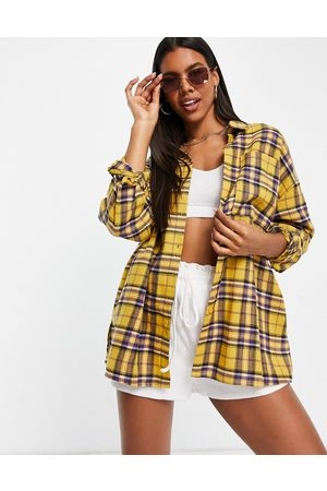 I saw it first – Kariertes Oversize-Hemd in