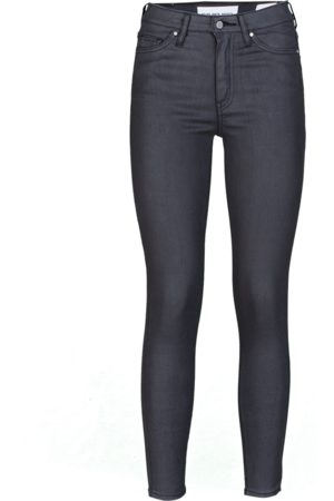 YOUNG POETS SOCIETY Damen Jeans Ania high waist 86214 coated (black coated)