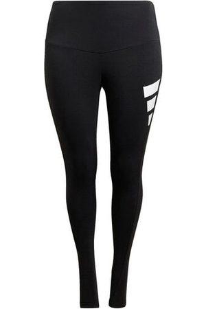 Adidas Leggings Plus Size Damen, black, 46/48
