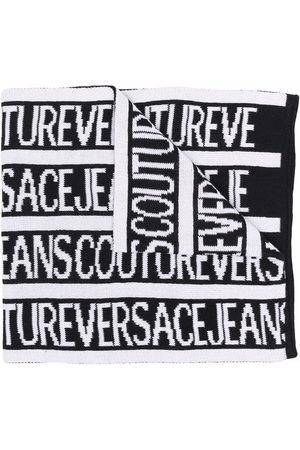 Versace Jeans Couture Schal mit Intarsien-Logo