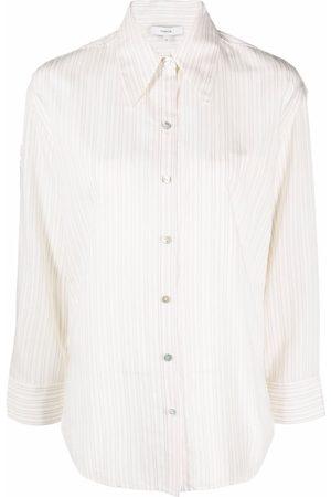 Vince Damen Blusen - Hemd mit Streifen