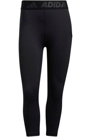 Adidas Tights 3 BAR TECH-FIT AEROREADY Taschen Damen, black-white, M