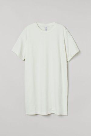 H & M T-Shirt-Kleid aus Baumwolle