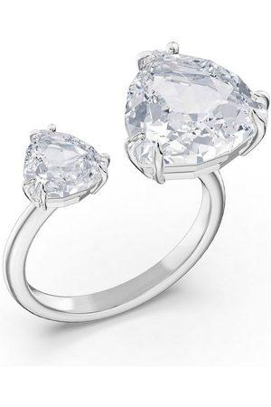 Swarovski Fingerring »Millenia Cocktail Ring, Kristalle im Triangle Schliff, 5610390,5609007/-2847/-9005,5610391«, mit ® Kristall