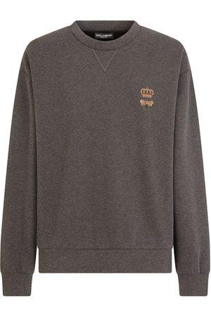 Dolce & Gabbana Sweatshirt mit Bienenstickerei