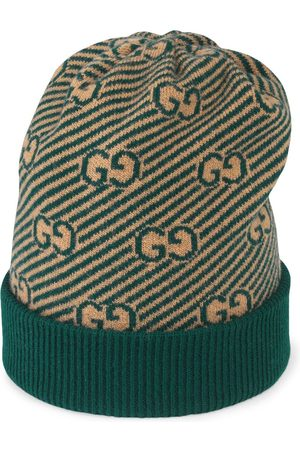 Gucci Jacquard-Mütze mit GG-Muster