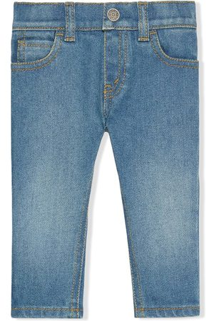 Gucci Jeans mit Katzen-Motiv