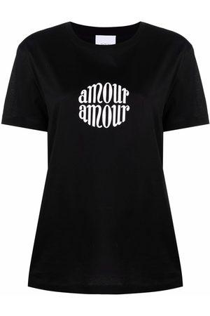 Patou Damen T-Shirts, Polos & Longsleeves - T-Shirt mit Slogan-Print