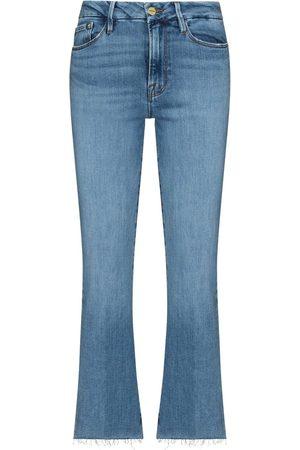 Frame Le Crop Bootcut-Jeans