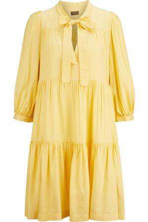 OTTOD'AME Damen Freizeitkleider - Minikleid mit Volants , Damen, Größe: 2XS - 38 IT