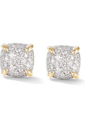 David Yurman 18kt Chatelaine Gelbgoldohrstecker mit Diamanten