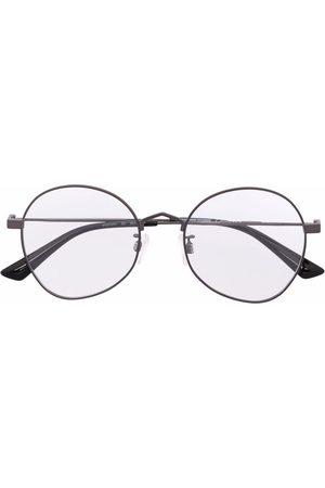 McQ Brille mit rundem Gestell