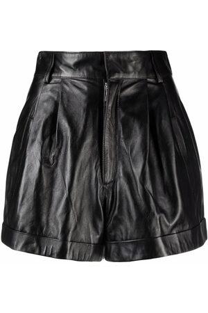 Manokhi Jett Shorts aus Leder
