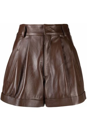 Manokhi Damen Shorts - Jett Shorts aus Leder